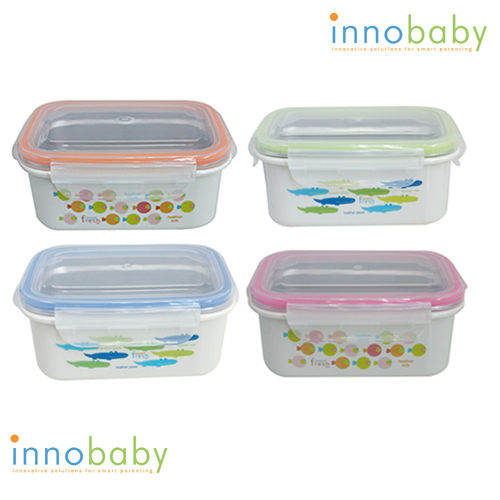 美國 innobaby stainless lunchbox 不鏽鋼保鮮便當盒【粉色】