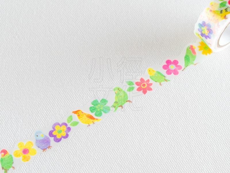 *小徑文化*日本進口和紙膠帶 PINE BOOK nami.nami Aqua Neon系列 ( TM00443 )