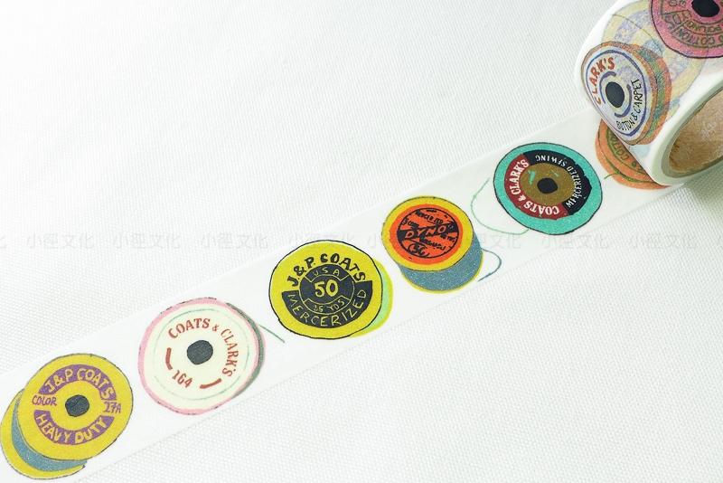 *小徑文化*日本進口 Aimez le style 2014ss 和紙膠帶 - Bobbins ( JAN 2884 )