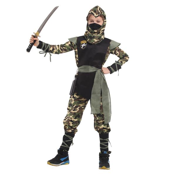 B-0133迷彩忍者裝化裝舞會表演造型服(M.L.XL)