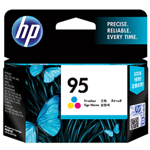 【HP 墨水匣】 C8766WA (C8766) NO.95 彩色原廠墨水匣
