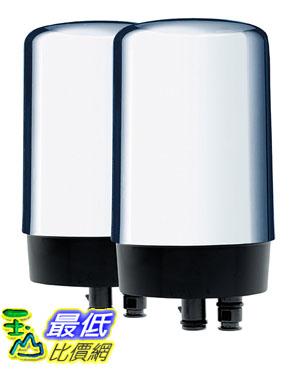 [玉山最低比價網]Brita42618亮面水龍頭濾芯/濾心OnTapReplacementFilters,2-Pack,Chrome(2個)