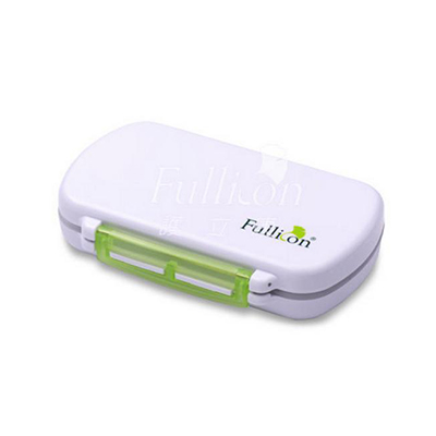 【Fullicon護立康】6格防潮藥盒/隨身盒/收納盒