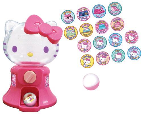【真愛日本】15112600010 迷你扭蛋機-KT粉 三麗鷗 Hello Kitty 凱蒂貓 扭蛋機 扮家家酒 玩具