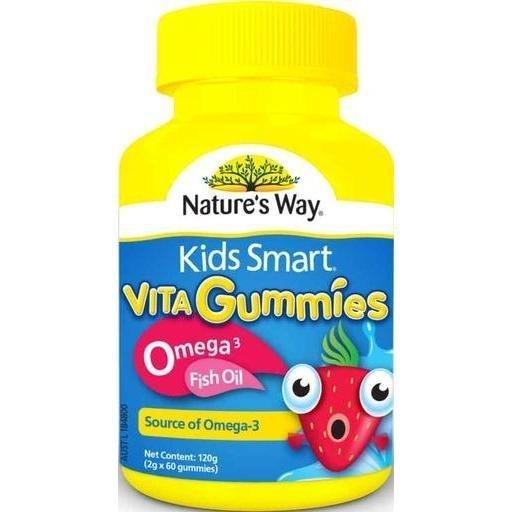 *預購* Nature's Way Kids Smart 兒童魚油軟糖 60顆