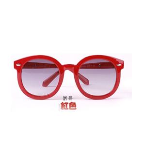 Kocotree◆簡約時尚兒童紫外線護目太陽眼鏡-紅色