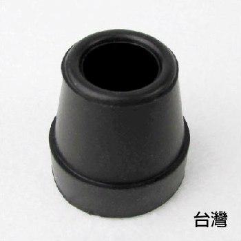 橡膠腳套 腳墊 - [851] 孔徑1.45cm 高3.05cm 黑色 2個入 四腳拐杖使用 老人用品 銀髮族