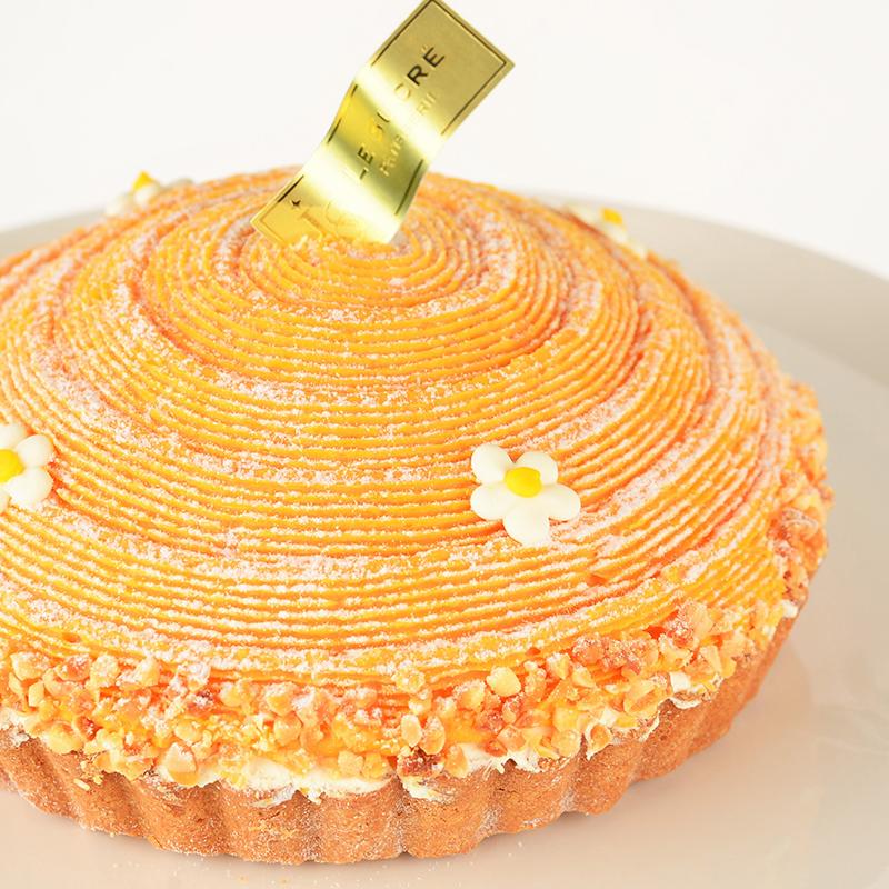 日出地瓜起司塔- 6吋 [ 嚴選紅肉地瓜製作、不添加一滴水或牛奶的重乳酪起司塔、純蜂蜜海綿蛋糕,主廚下重本的獨創養身蛋糕 ]