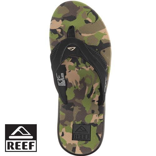 【專區全面8折↘】REEF 360度足跟氣墊外底獨家開瓶器設計男款人字拖.迷彩