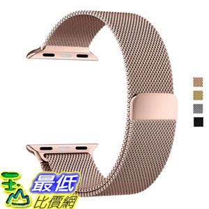[美國直購] Apple Watch B01JIVCJXC Band 42,38mm DBEAZZT Milanese Bracelet Strap 316Stainless (Milanese- Rose Gold- 42mm)