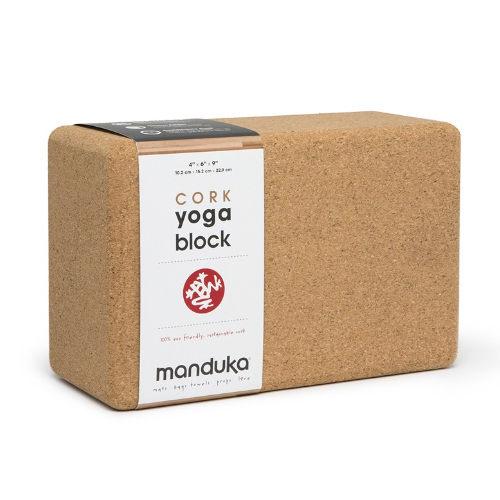 Manduka Cork Block 軟木瑜珈磚