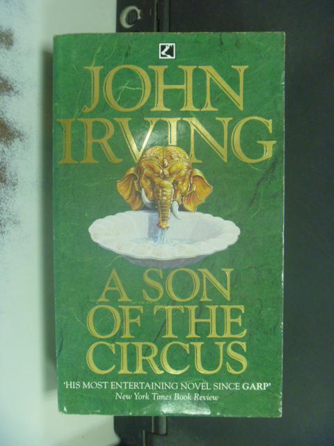 【書寶二手書T4/原文小說_NRC】John Irving Son Of The Circus_ John Irving