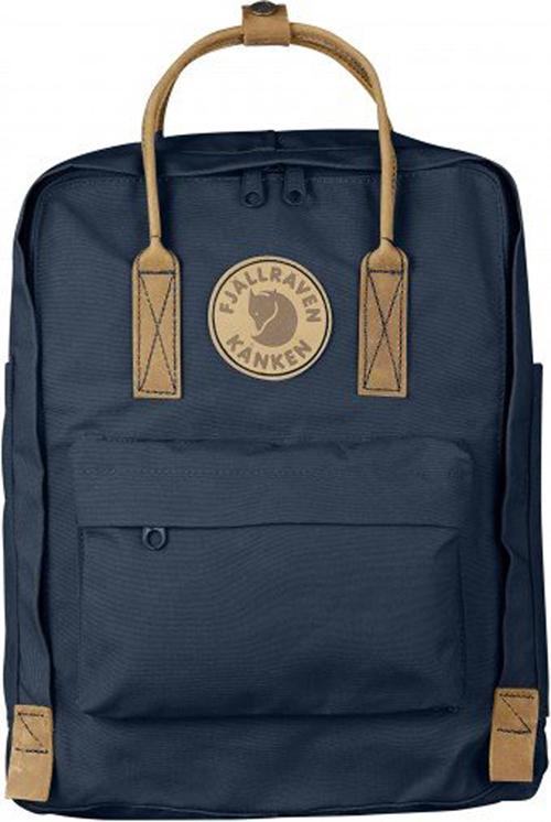 【鄉野情戶外專業】 Fjallraven |瑞典|  小狐狸 Kanken Classic No.2 經典款方型書包 方型背包 後背包 (海藍) _23565