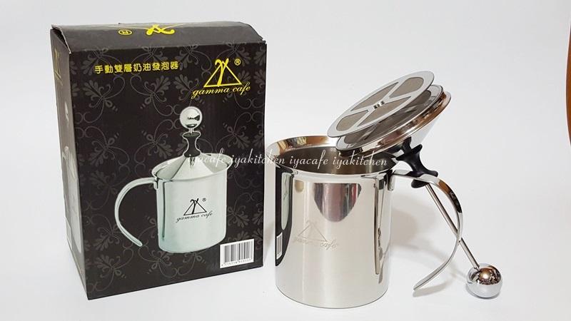 《愛鴨咖啡》Gamma Cafe 雙層 不銹鋼 奶泡器 發泡器 牛奶發泡器 800cc