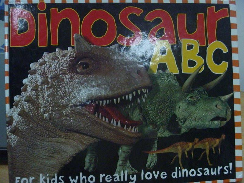 【書寶二手書T3/少年童書_PPK】Dinosaur ABC