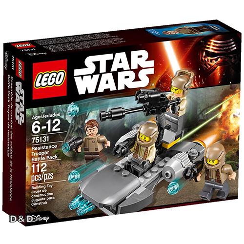 樂高積木LEGO《 LT75131 》2016 年 STAR WARS 星際大戰系列 - Resistance Trooper Battle Pack