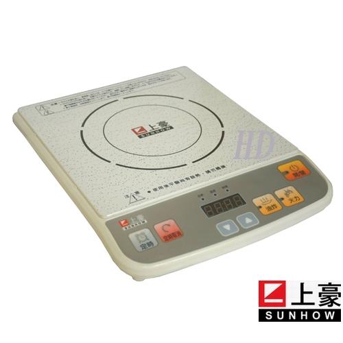 【SUNHOW上豪】微電腦定時電磁爐(IH-1611)