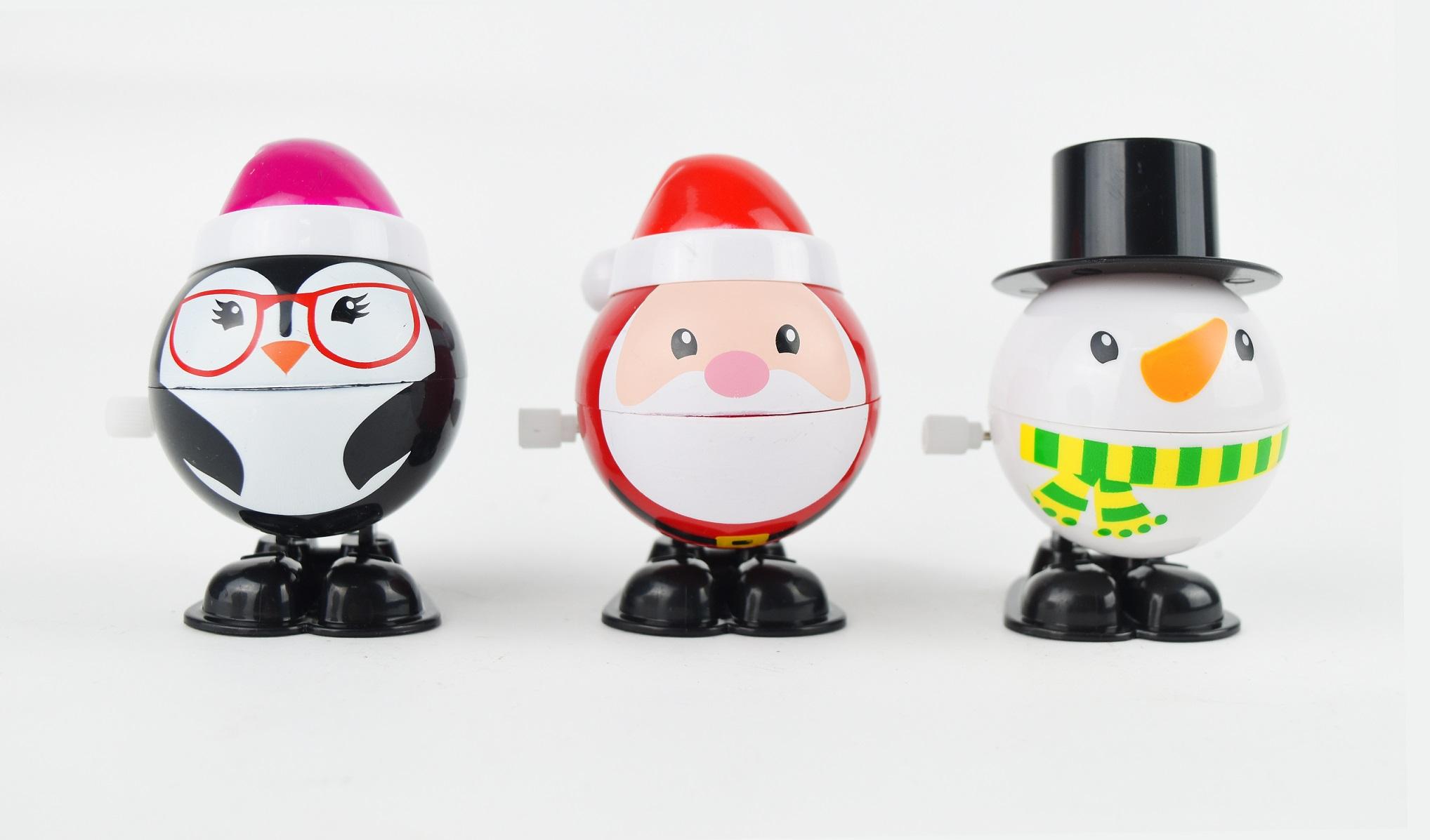 X射線【X419409】聖誕發條公仔(1入-隨機出貨不挑款),化妝舞會/造型/聖誕節/派對道具