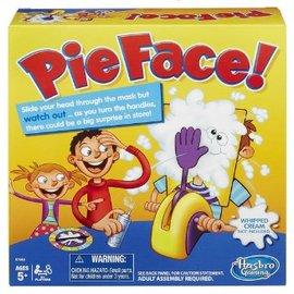 ★衛立兒生活館★孩之寶 砸派遊戲組 Pie Face 闔家遊戲 桌遊 砸派機 (不含鮮奶油 可用溼海綿取代)
