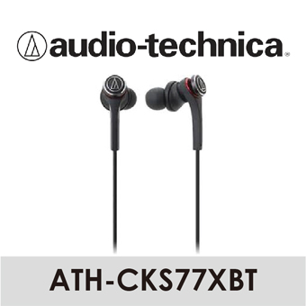 【 Audio-Technica 鐵三角 】藍牙無線耳機麥克風組 ATH-CKS77XBT