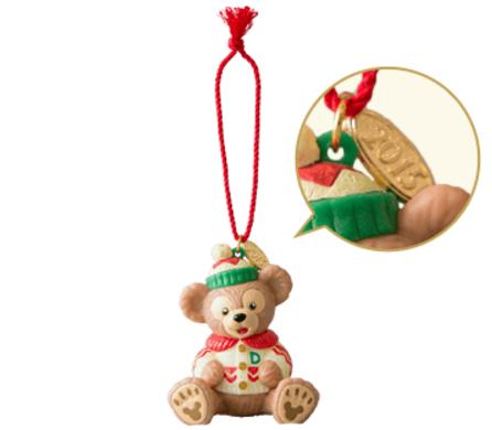 【真愛日本】 15111700016 聖誕節限定15-公仔達菲 Duffy &ShellieMay東京迪士尼樂園 公仔