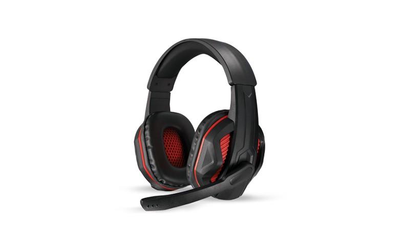 樂點生活●laclick 赤魟-專業電競耳機麥克風-紅 MOE212