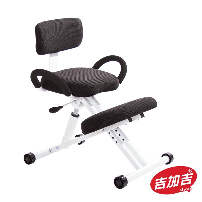 吉加吉 機能工學 跪姿椅 型號457 (黑色)