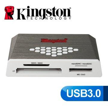 *╯新風尚潮流╭*金士頓 支援 SDHC SDXC microSD microSDXC CF 超高速 讀卡機 FCR-HS4