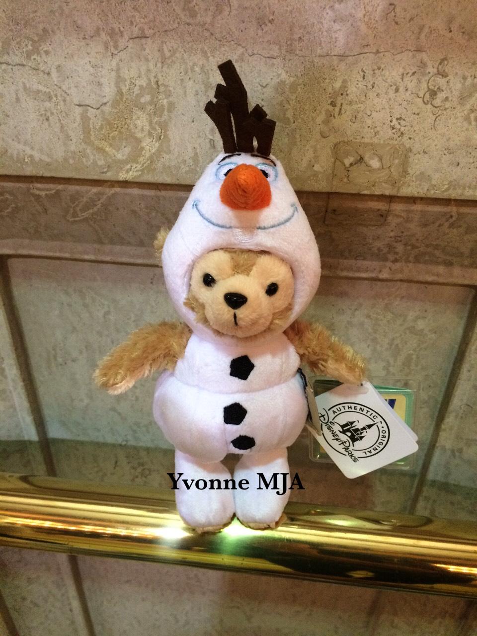 *Yvonne MJA香港代購*香港迪士尼限定正品 Duffy達菲熊雪寶造型吊飾(帽子可拿下喔)