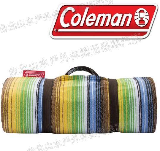 Coleman 野餐墊/露營地墊/睡墊/ CM-26871M000 法藍絨休閒墊/170森林綠