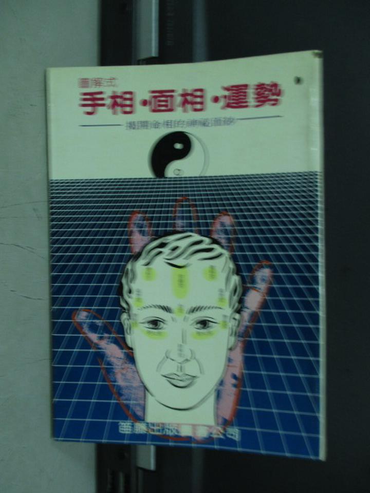 【書寶二手書T1/命理_KQF】手相面相運勢