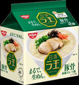 【Nissin日清】拉王拉麵5包入-豚骨 86gX5入