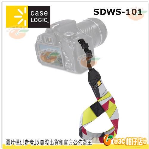現貨 美國 Case Logic SDWS-101普普色塊 單眼手腕帶 微單 類單 幾何 EM10 A7II EM5 A7 D7200 80D 760D XA2