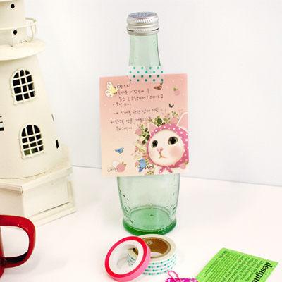 Jetoy,choo choo cat 甜蜜貓便條紙(120P)_Pink hood~快樂生活網