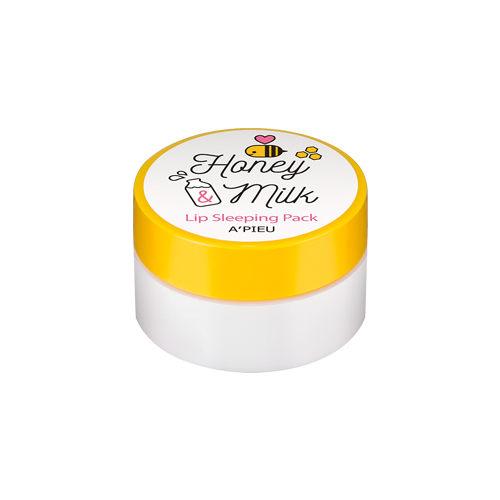 韓國Apieu 蜂蜜牛奶晚安唇膜 護唇膜 凍膜【SV7190】快樂生活網