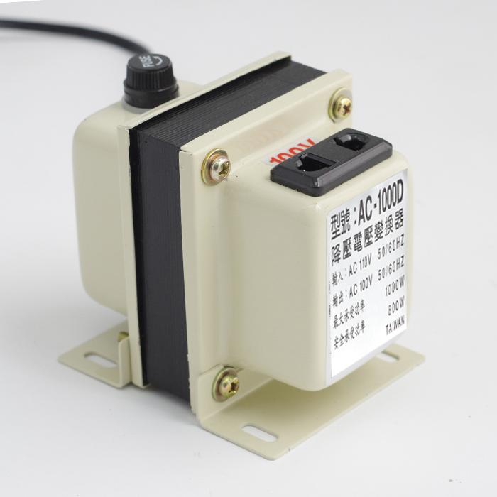 日本電器家電專用 110V轉100V 變壓器 降壓器1000W專用 生活家電 504 【SV4478】 快樂生活網
