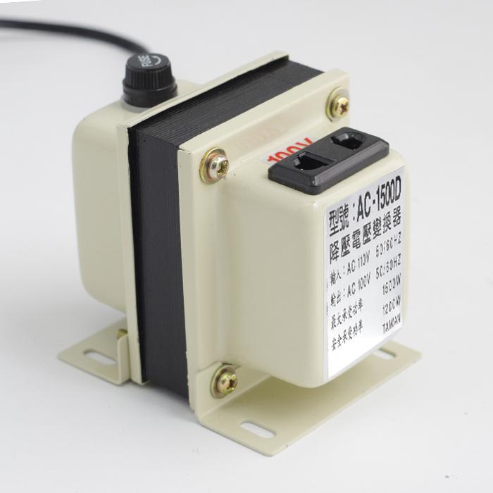 降壓器 110V轉100V 1500W 日本電器家電專用變壓器 穩壓器 【SV4479】快樂生活網