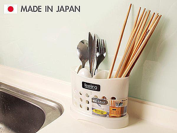 日本製 二格筷盒 置物盒 收納盒 廚房收納 餐廳收納 餐廚 筷子湯匙餐具  【SV3122】快樂生活網