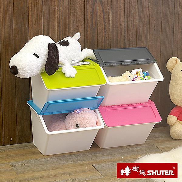 樹德大嘴鳥收納箱 資源回收箱 玩具收納箱 組合收納櫃 【YV4002】快樂生活網