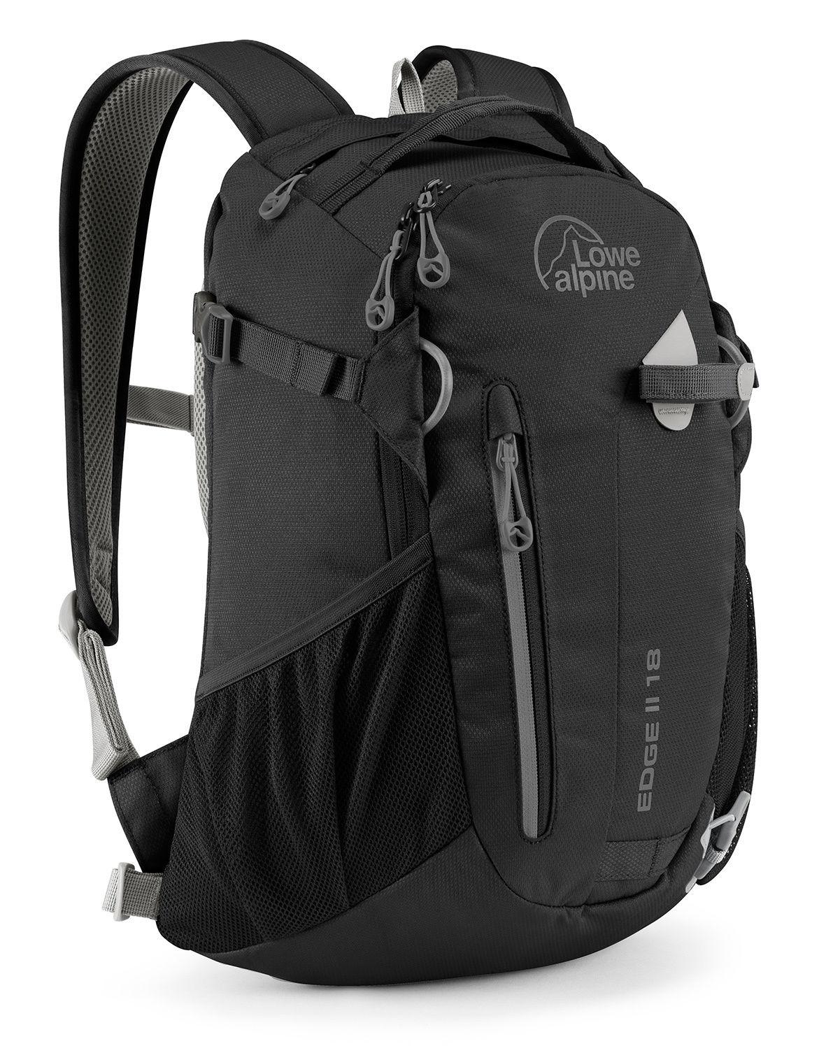 ├登山樂┤Lowe alpine Edge II 18L 休閒健行後背包 黑 # FDP4918B
