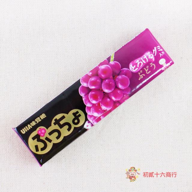 【0216零食會社】日本UHA味覺糖-葡萄味條糖50g