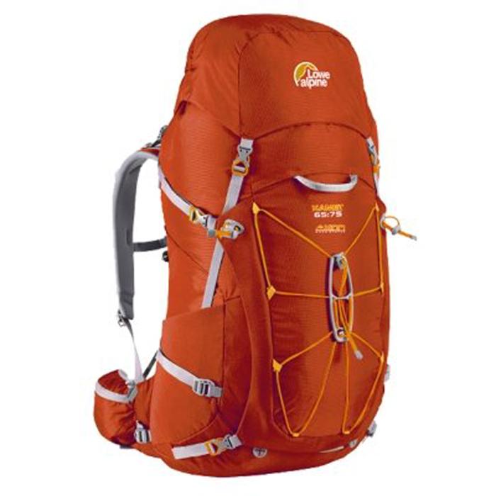 【鄉野情戶外專業】 Lowe Alpine  英國   Kamet 65+10L背包背包客/旅遊/背包/健行/登山背包-紅-男款_FBP-62