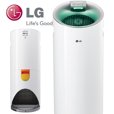 LG 樂金 PS-W309WI 韓國原裝進口 空氣清淨機 大白  送負離子被