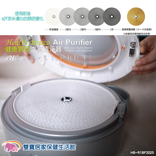 Health Banco 健康寶貝空氣清淨機(小漢堡機) 專用濾芯