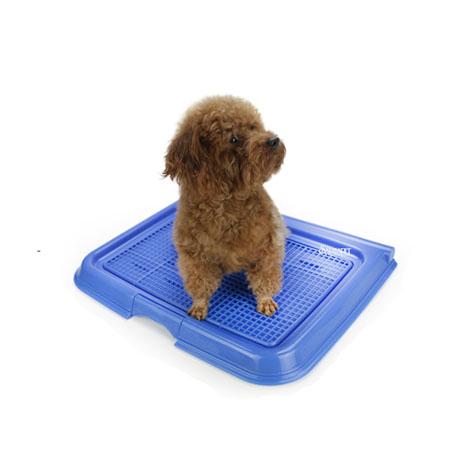 【小樂寵】簡約素色旋轉式狗廁所.尿盆.附公狗柱/三色