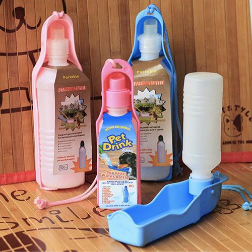 【小樂寵】便利外出攜帶式水壺/飲水器 250/500ml