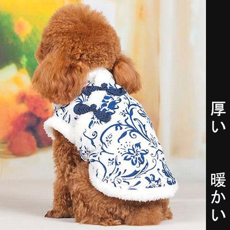 【小樂寵】古典刺繡旗袍式上衣/厚款