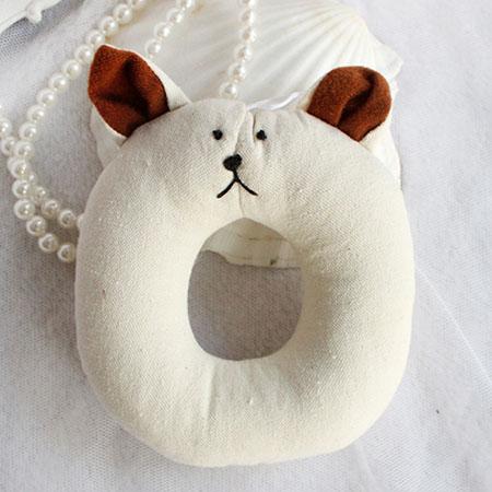 【小樂寵】米麻甜甜圈動物造型發聲玩具