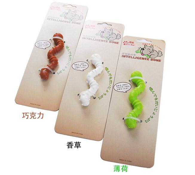 【小樂寵】PetsInn 奶香耐咬潔牙玩具(香草/巧克力/薄荷)