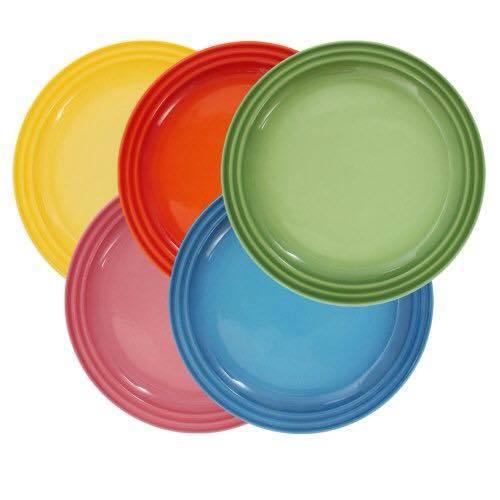 周年慶特價 HOMA 彩色廚房 彩色陶瓷餐盤 烤盤 烤皿 無鉛無毒 來自法國時尚色系 五個一組  女生最愛禮物